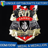 金属の柔らかいエナメルの記念品の金属メダルスポーツの円形浮彫り