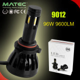 96With9600lm diodo emissor de luz Headlighs para o automóvel com o baixo jogo elevado 12V/24V 9004/9007 dos bulbos do feixe