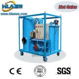 Los residuos de vacío de alta eficiencia de filtración de aceite lubricante de la máquina