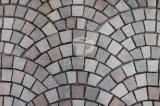 Basalto grigio/nero/colore giallo/verde/bianco naturale/pietra per lastricati caduto/arenaria/paracarro/granito per il giardino/l'abbellimento/decorativo/strada privata con la certificazione del Ce
