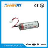 High Energy Density (ER18505M)를 가진 Smoke Detectors를 위한 Size 3500mAh Li Socl2 Battery