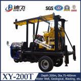 200mの井戸のための携帯用トラクターのドリル機械