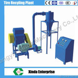 Scrap Radil Tyres Recycling Rubber Powder Grinder Automatic Tire Recycling Machine