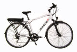 """Motocicleta elétrica do """"trotinette"""" da bicicleta elétrica bonita da bicicleta E da cidade com a Li-Bateria traseira Samsung da cremalheira"""
