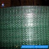 Comercio al por mayor 85gramos de tejido de polipropileno verde negro cieno valla para la construcción