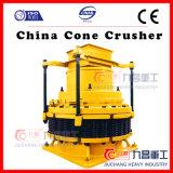Arena que hace la trituradora del cono de la máquina con capacidad grande