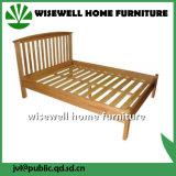 固体二重カシ木ベッドの大型のベッド(W-B-0025)