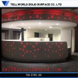 Le design de mode compteur ronde Table de réception de l'Hôpital Hôtel réception haut de page