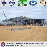 Vorfabriziertes helles Stahlkonstruktion-Gebäude