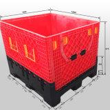 Foldable 청과 저장 플라스틱 깔판 콘테이너 상자 1200X1000X975