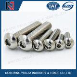 Tornillo principal redondo del socket de Heaxagon del acero inoxidable Jisb1174