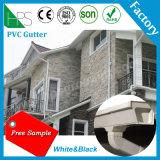 Sistema da calha do telhado do conduto pluvial da água da calha do PVC