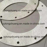 Temperatura alta resistência ao calor Non-Metal junta de flange