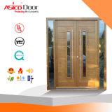 固体木のドア装飾的なデザイン出入口