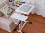 Pen HolderおよびCastersのコンピュータStand Laptop Desk Cart