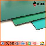 Fournisseur matériel de construction de bâtiments/panneau composé en aluminium fini de balai