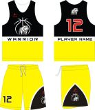Uniformes vermelhos e pretos do Sportswear o mais atrasado do costume de Healong do projeto do basquetebol