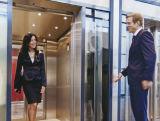 Ascenseur avec l'Allemagne conduire la machine