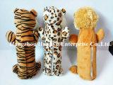 Plüsch angefülltes Haustier-Tier-Spielzeug (Bär, Löwe, Tiger)