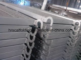 Plancia galvanizzata dell'impalcatura del metallo di materiale Q235