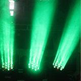 luz principal móvil de la viga LED de 36PCS 3W RGBW 4in1