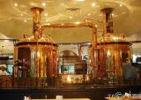 equipamento da cervejaria do revestimento 1000L de cobre micro para a venda
