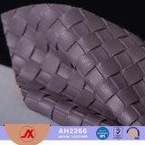 Teste padrão novo couro de superfície feito malha para sacos, sapata do PVC 2017, assento de carro
