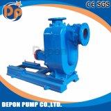 Pompe à eau centrifuge diesel auto-amorçante de lutte contre les inondations d'eaux d'égout