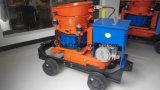 Machine électrique de béton projeté de Gunite d'entraînement de projet à vendre