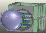 Industrieller automatischer Drehmikrowellen-Vakuumtrockner