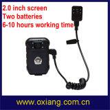 HD de 1080P Gravador de câmara de polícia junto ao corpo