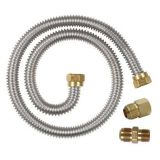 CSA Stainless Steel Corrugated Flexible Hose Gas Connector Coated 203-L