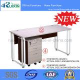 L'acier moderne en bois bon marché&ordinateur de bureau de réception (RX-MG0214-RX-B4008)