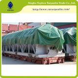 خضراء نوع خيش [تربس] شاحنة تغطية [بفك] مشمّع وقاية مقطورة تغطية