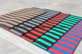 ロールの3G品質の縞カラーPVCマット