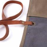 A qualidade superior encerou o saco de rolo do malote do relógio do couro da lona
