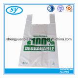 HDPEのカスタムベストの買物袋のプラスチックショッピング・バッグ