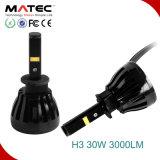 Le meilleur H3 H1 H7 H11 9005 d'ampoules de phare du véhicule DEL 9006 H14 12V/24V