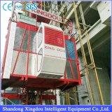 Élévateur jumel de construction de cage de Sc200/200z
