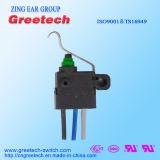 Micro interruptor impermeável selado Subminiature usado no carro e nos brinquedos