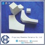 Mattonelle di ceramica dell'allumina di ingegneria di resistenza all'urto applicate a potere termico