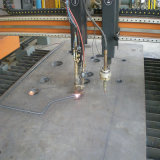 Plasma Cutting Steel Plate의 기계 Part Made