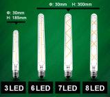 Lámpara colgante de la vendimia Nuevo diseño de tungsteno bombillas de filamento de cristal