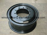 Stahlrad 7.00t-20 7.50V-20 7.50FL-20 8.00V-20 8.50V-20 9.00-20 für LKW und Schlussteil und industrielles Gerät
