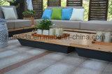 Водоустойчивый Анти--Увяданный комплект софы твердой древесины модульный