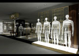 Dispositivi della visualizzazione dell'indumento per gli uomini che coprono vendita al dettaglio dalla fabbrica