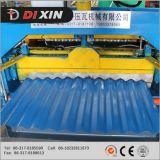Roulis en aluminium de toit de tuile de panneau de plaque d'acier de tôle en métal ondulé d'opération formant la machine