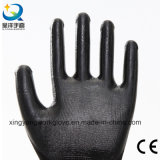 Le nitrile enduit de protection du travail de la sécurité industrielle des gants de travail (N002)