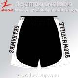 La tintura della pianura di Healong ha sublimato gli Shorts freddi stampati della spiaggia degli uomini