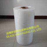 Forte puissance multi-couche LLDPE soufflé Clear Pallet Wrap Stretch Film
